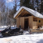 Охотничьи зимовья
